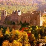 Viaggio romantico al castello di Heidelberg