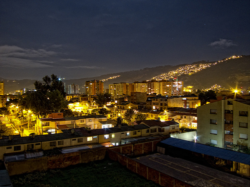 Bogotà by night