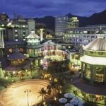 Port Louis, moderna capitale dell'isola di Mauritius