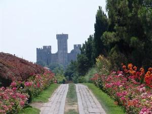 Veduta del castello Scaligero