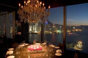 L'Aqua Restaurant di Hong Kong